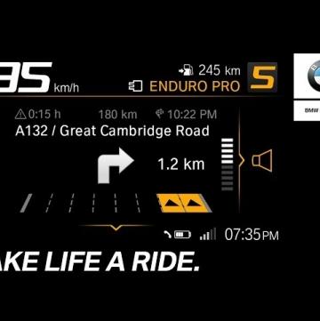 Новая коммуникационная система BMW Motorrad